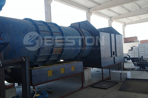 Rice Hull Carbonization Plant
